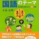 読解おすすめ問題集「必ず出てくる国語のテーマ」(上級向け)